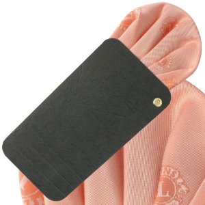 画像1: ワンタッチポケットチーフ オレンジ