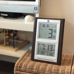 画像2: デジタル日めくり電波時計