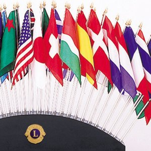 画像2: 万国旗50ヵ国 シルク旗