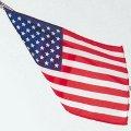 卓上旗(正絹) アメリカ
