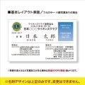基本レイアウト名刺【100枚 & 印刷代込み 】