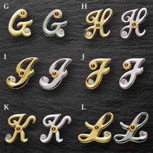 画像3: アルファベットピンブローチ